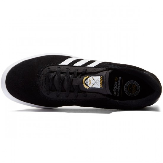 Adidas Gonz Pro Adv Shoes - Black/White/Black - 8.0