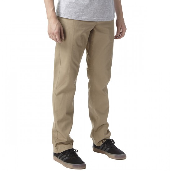 Obey Good Times Pants - Khaki - 33 - 32