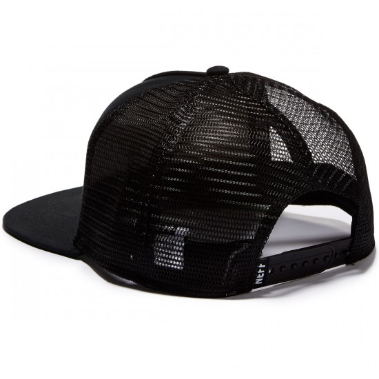 Neff Corpo Trucker Hat - White/Black