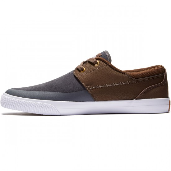 DC Wes Kremer 2 Shoes - Brown/Grey - 8.0