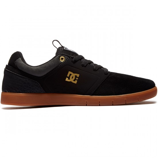 DC Cole Signature Shoes - Grey/Black/Black - 8.0