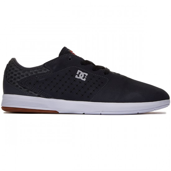 DC New Jack S Shoes - Grey/Black - 8.0