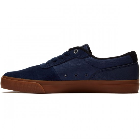 DC Switch S Shoes - Navy/Gum - 8.0