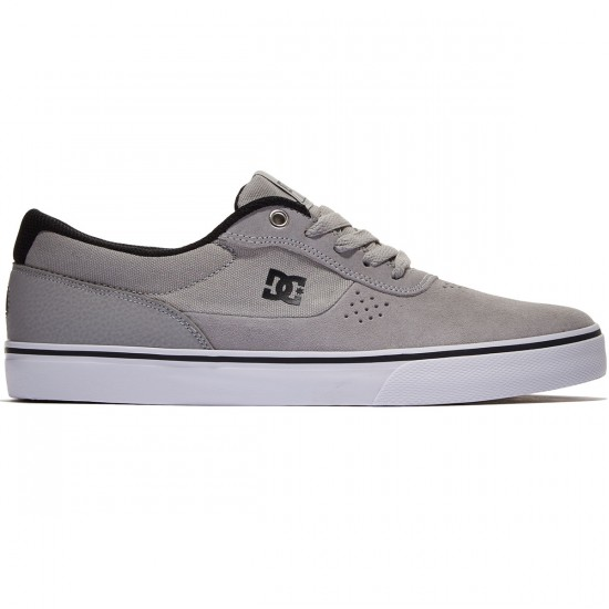 DC Switch S Shoes - Grey/Black - 8.0