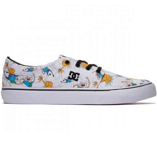 DC X Adventure Time Trase X Shoes - Black/Multi - 8.0