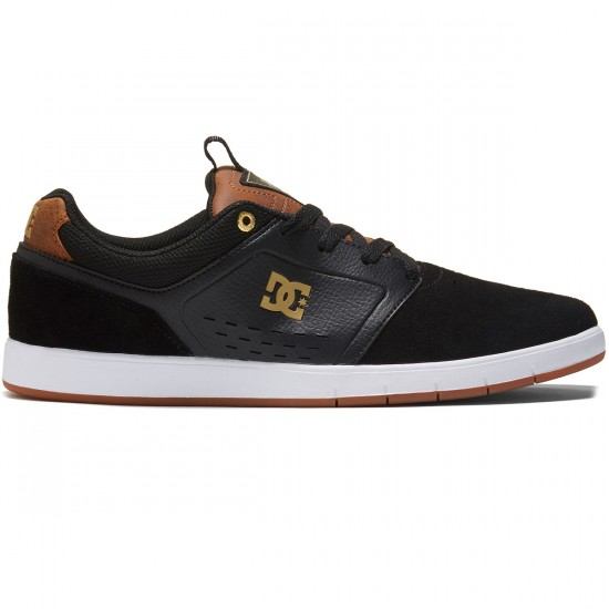 DC Cole Signature Shoes - Black/Brown/White - 8.0
