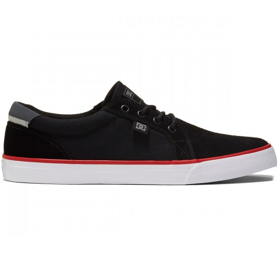 DC Council S Shoes - Black/White/Red - 8.0