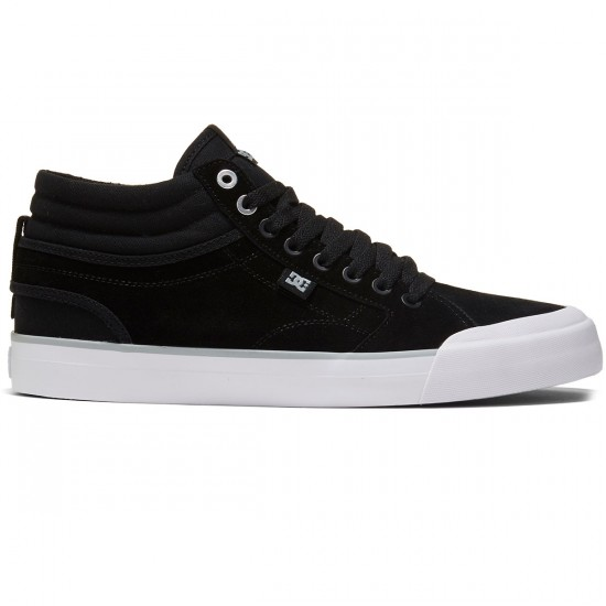 DC Evan Smith Hi Shoes - Black/White - 8.0
