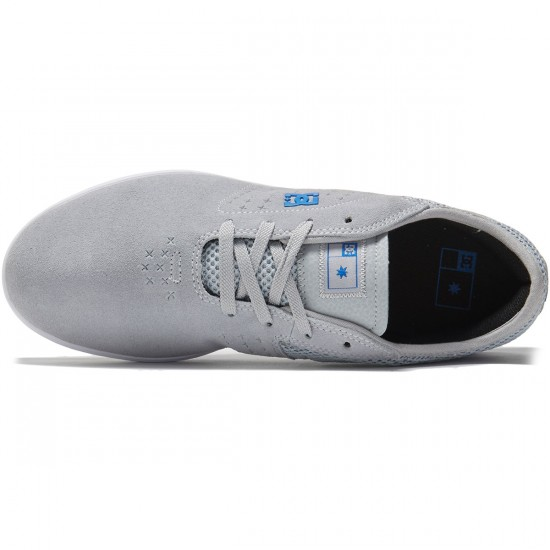 DC New Jack S Shoes - Grey/Blue - 8.0