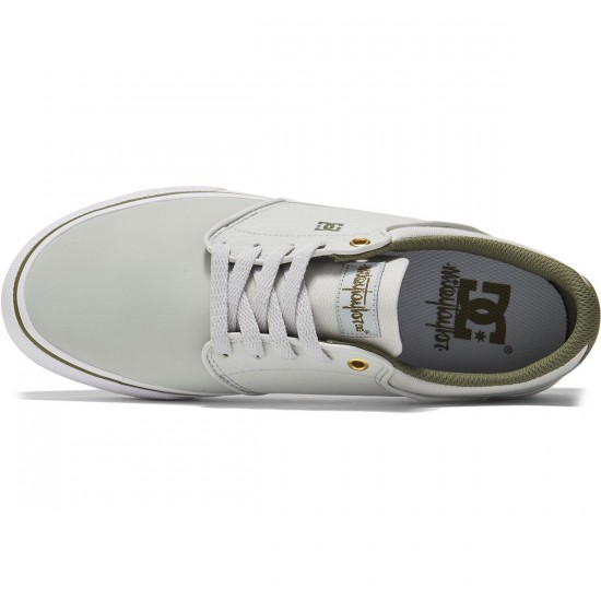 DC Mikey Taylor Shoes - Grey/White/Green - 8.0