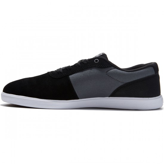 DC Switch S Lite Shoes - Black/Charcoal - 8.0
