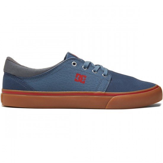 DC Trase S Shoes - Navy/Gum - 8.0