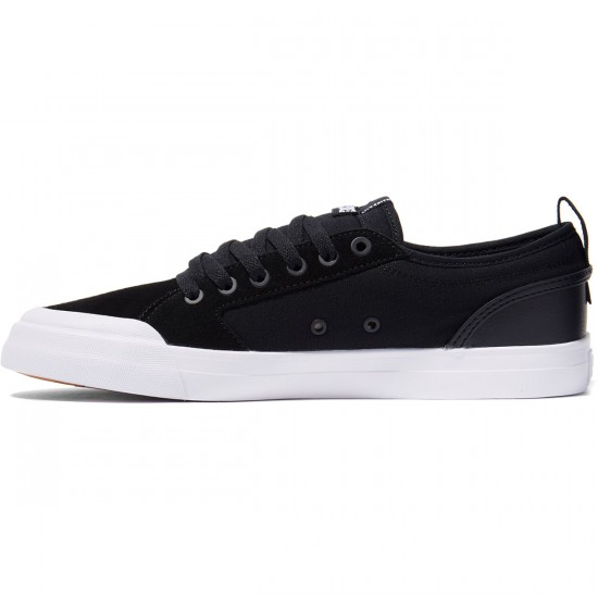 DC Evan Smith S Shoes - Black/Black/White - 8.0