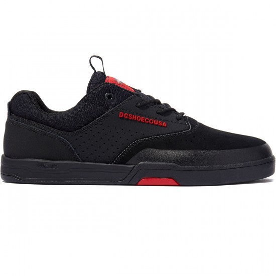 DC Cole Lite 3 S Shoes - Black/Black/Red - 8.0