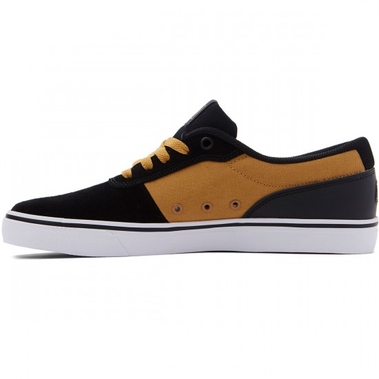 DC Switch S Shoes - Black/Tan - 8.0