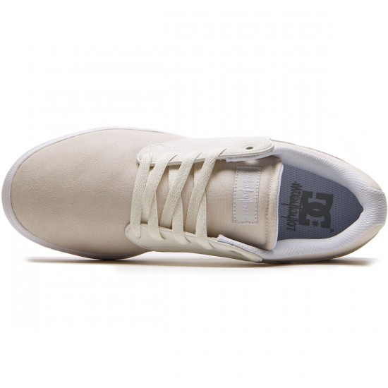 DC Mikey Taylor Shoes - White/Gum - 8.0
