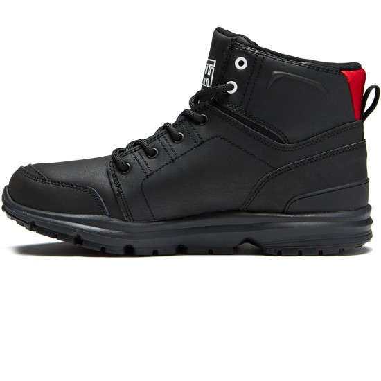 DC Torstein Boots - Black/Athletic Red/White - 10.0