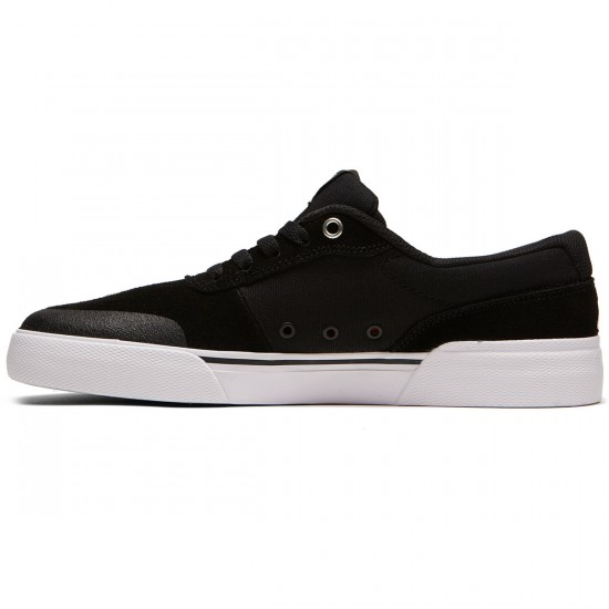 DC Switch Plus S Shoes - Black/White - 9.0