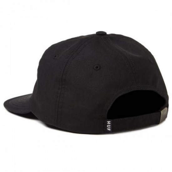 HUF Formless Classic H 6 Panel Hat - Black