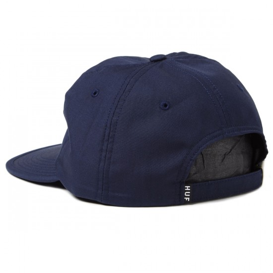 HUF Formless Classic H 6 Panel Hat - Navy