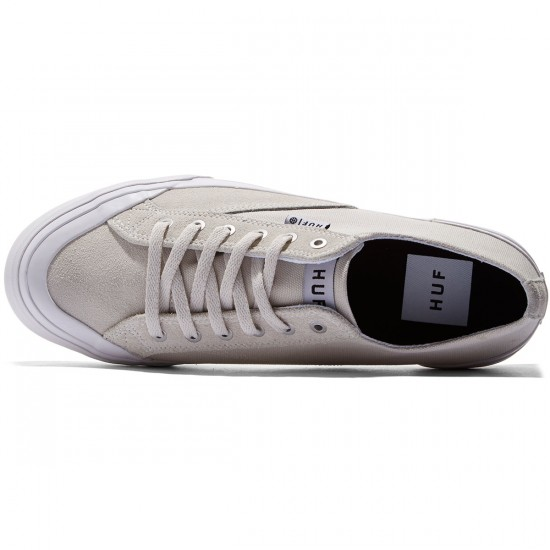 HUF Classic Lo Ess Shoes - Bone/White - 8.0