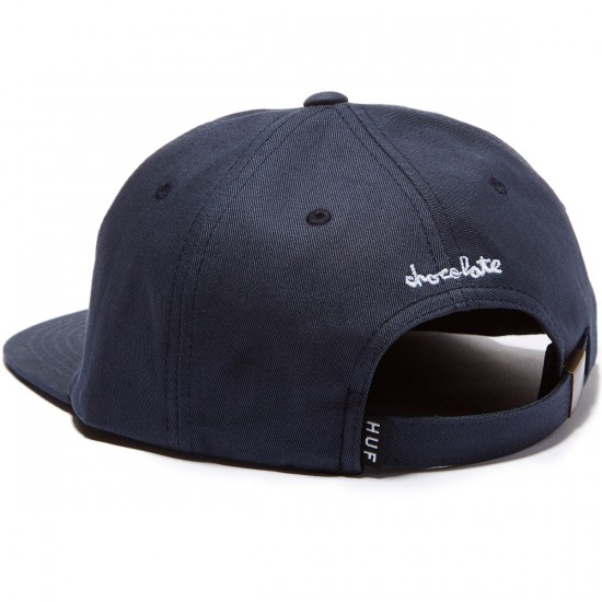HUF X Chocolate NY Cop Car 6 Panel Hat - Navy