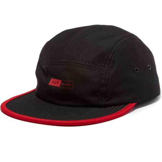 HUF X Chocolate Packable Volley Hat - Black