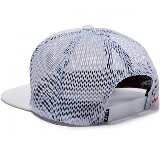 HUF X Chocolate Trucker Hat - White