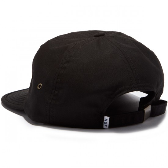 HUF Formless Classic H 6 Panel Fall 2016 Hat - Black