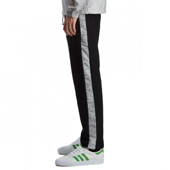 HUF Concrete Track Pants - Black - LG