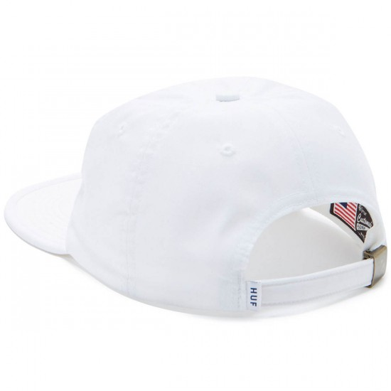 Huf Formless Classic 6 Panel Hat - White