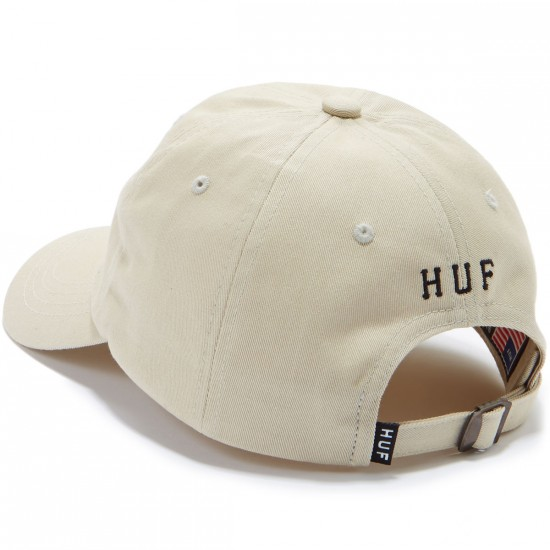 Huf Classic H Curved Hat - Stone/Black