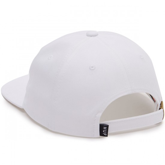 Huf Slant Six Panel Hat - White