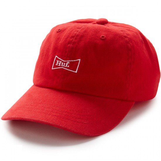 Huf Drink Up 6 Panel Hat - Red