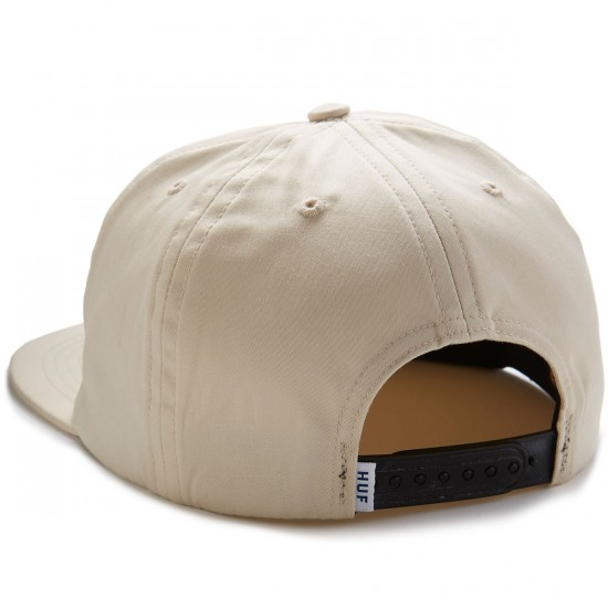 Huf Export Snapback Hat - Ivory