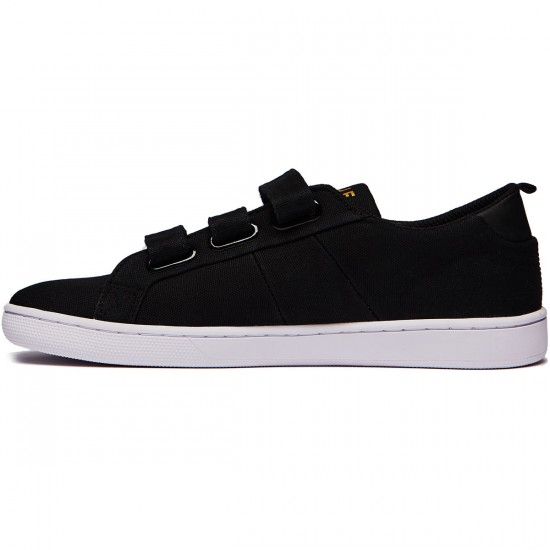 HUF Boyd Shoes - Black Velcro - 8.0