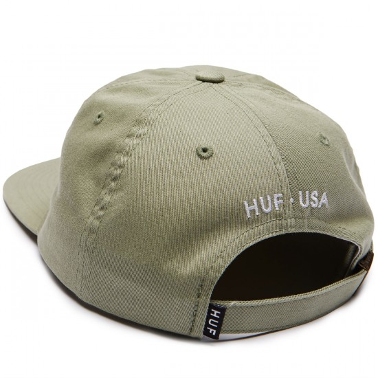 Huf Cities 6 Panel Hat - Mist Green