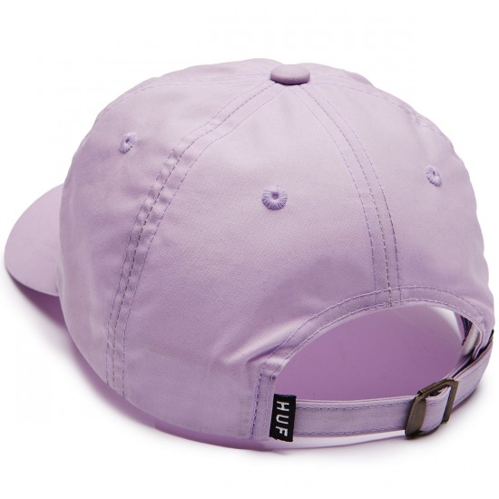 Huf British Millerain 6 Panel Hat - Lavendar
