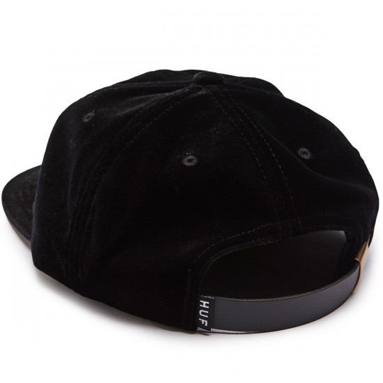 Huf Jamaica 6 Panel Hat - Black