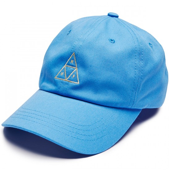 Huf Triple Triangle Curved Visor 6 Panel Hat - Marina