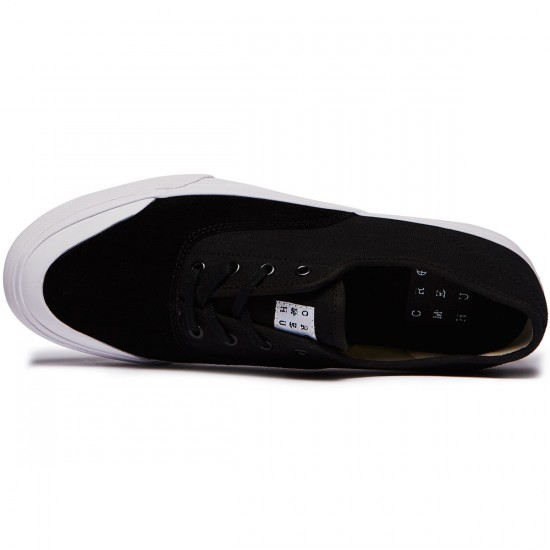 HUF Cromer Shoes - Black/White - 8.0