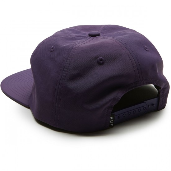 Huf Triple Triangle Snapback Hat - Purple