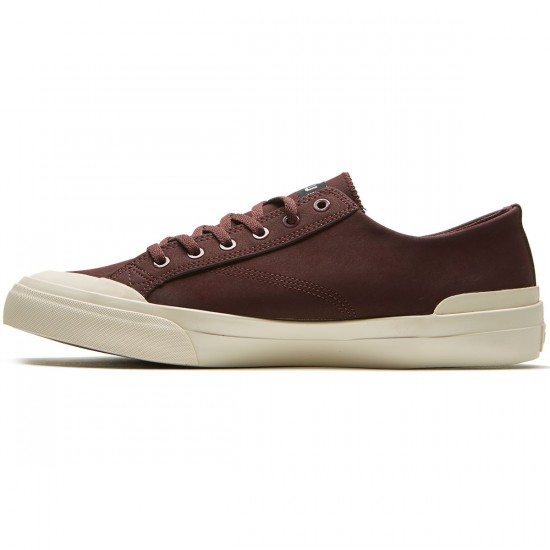 HUF Classic Lo Shoes - Deep Oxblood