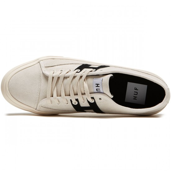 Huf Hupper 2 Lo Shoes - Cream/Black - 8.0