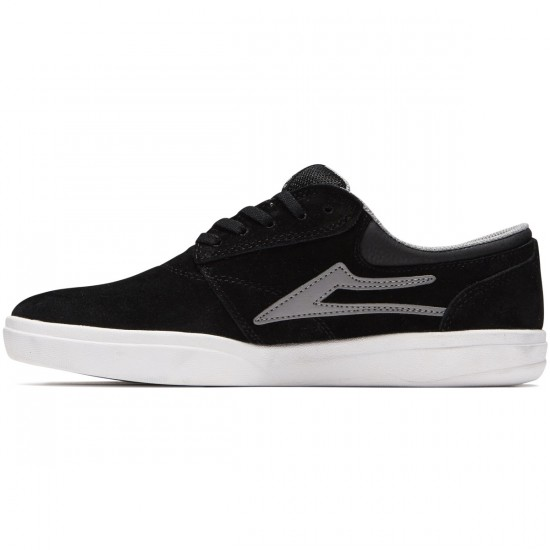 Lakai Griffin XLK Shoes - Black/Grey Suede - 8.0