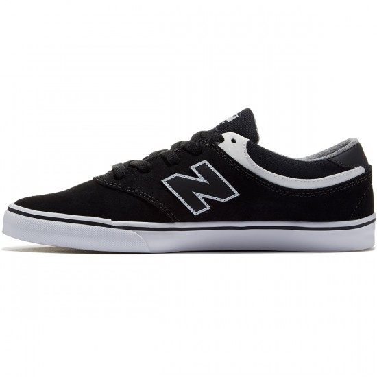 New Balance Quincy 254 Shoes - Black/White - 8.5
