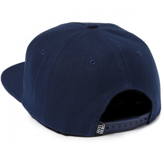 Anti Hero Keep Moving Snapback Hat - Navy