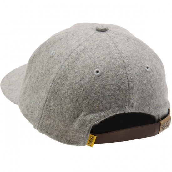 Krooked Shmolo Strapback Hat - Off White