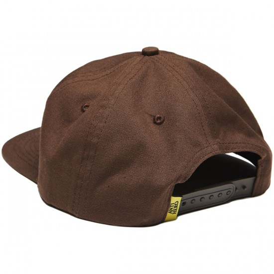 Anti-Hero X Spitfire Classic Eagle Snapback Hat - Dark Brown