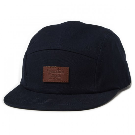 Brixton Grade 5 Panel Hat - Navy